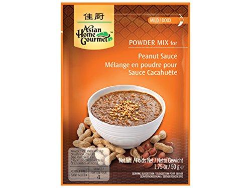 AHG Spice Paste Peanut Sauce - Paquete de 12 x 50 gr - Total: 600 gr