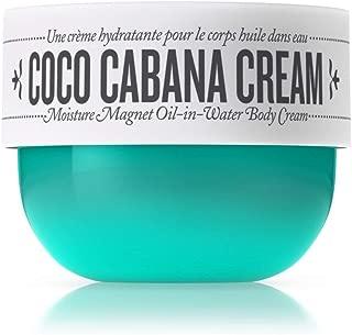 Sol de Janeiro Coco Cabana Cream Moisture Magnet Oil-in-Water Body Cream (Full Size 8 fl oz/ 240 ml)