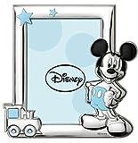 Disney Baby - Topolino Mickey Mouse - Cornice per Foto in Argento da Tavolo o Comodino per...