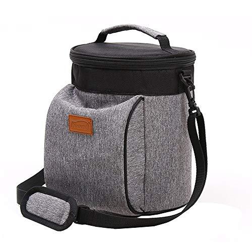 Outdoor mountaineering bag Épaissi Sac Isolant en Tissu Oxford, Grand Sac d'isolation du Papier d'aluminium boîte à Lunch boîte à Lunch pour Garder Le Sac Froid 6L, adapté pour 1-3 Personnes