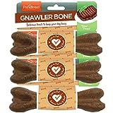 Pure Breed Fleischknochen knabbern Packung mit 3