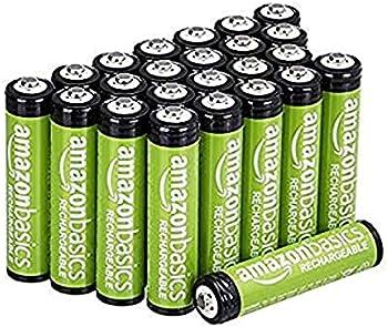 24-Pack Amazon Basics AAA Performance 800 mAh Rechargeable Batteries