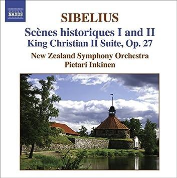 Sibelius: Scenes Historiques I and Ii / King Christian Ii Suite