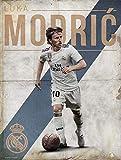 Grupo Erik Print Real Madrid Modric, Multicolor, 30x40 cm