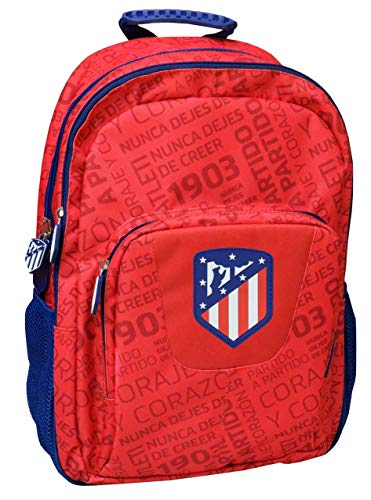 Atletico de Madrid MC-242-ATL Mochila Adaptable a Trolley, 43 cm
