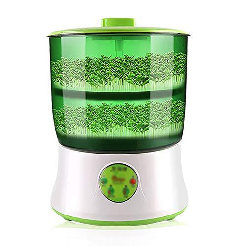 H\A Sojasprossenmaschine Haushalts-Multifunktions-Sojasprossenmaschine, Alle Arten Von Bohnen, Sie Können Auch Eine Vielzahl Von Sprossensämlingen Züchten