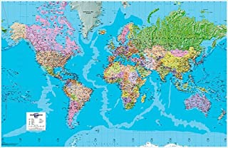 Map Marketing Giant World - Mapa político del mundo
