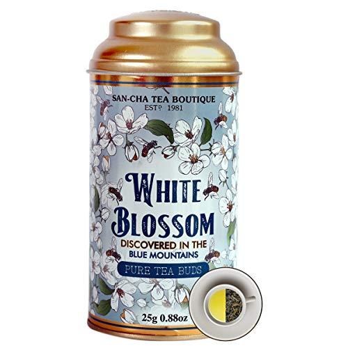 Sancha Tea Boutique White Blossom White Tea (25x3Cups), Pure...