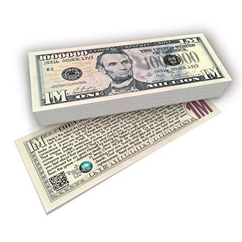 Lincoln Million Dollar Bill Gospel Tract (Pack of 100, NKJV)