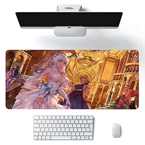 Anime Beauty Muismat, groot kantoor, huishoudtafel, lading, tv-spel, 300 x 800 x 2 mm, Anime Beauty 06