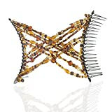 HairZing Double Cross Hair Comb, Hair Accessory Perfect for Easy...
