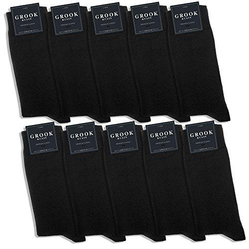 Grook & Cain - Premium Classic - Pack de 10 pares de