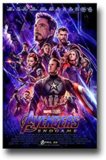 Amazon Com Avengers Endgame Movie Poster