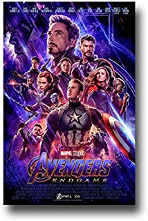 Avengers Endgame Poster Movie Promo 11 x 17 inches Flyer Size End Game 2019 X