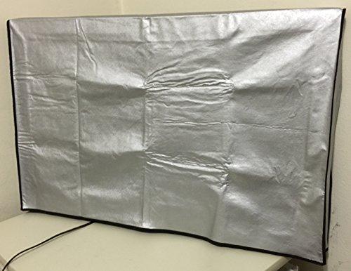60' Samsung un60ju6400fxza 60' UHD cubierta Smart TV, material resistente, se desliza fácilmente en tu TV, resistente al agua, Maximize TV Vida Tamaño de la cubierta 54' W x 3' D...