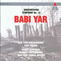 Shostakovich: Symphony No. 13- Babi Yar by Sergei Leiferkus (1994-05-03)