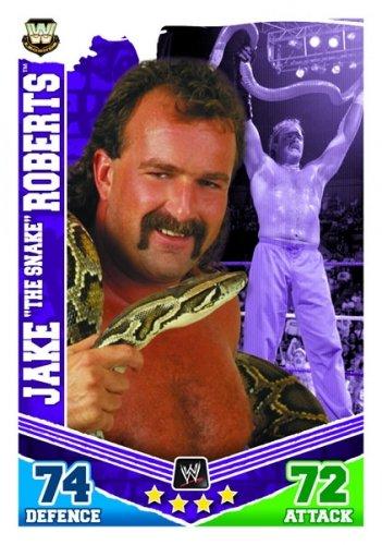 JAKE The Snake ROBERTS Legends Slam Attax MAYHEM Trading Card