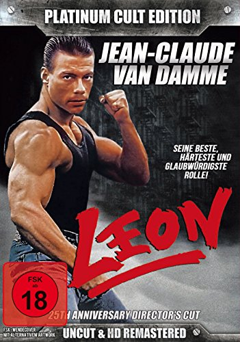 Leon - 3 DVDs (Platinum Cult Edition) - limitierte Auflage!! [Director's Cut]