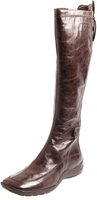 Lamica Lederstiefel Stiefel Leder Damenstiefel braun Schuhe 2915  | Gutes Design
