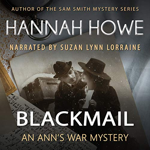 Blackmail: An Ann's War Mystery  audiobook cover art