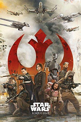 Preisvergleich Produktbild Star Wars - Rogue One - Rebels Poster Plakat Größe 61x91, 5cm
