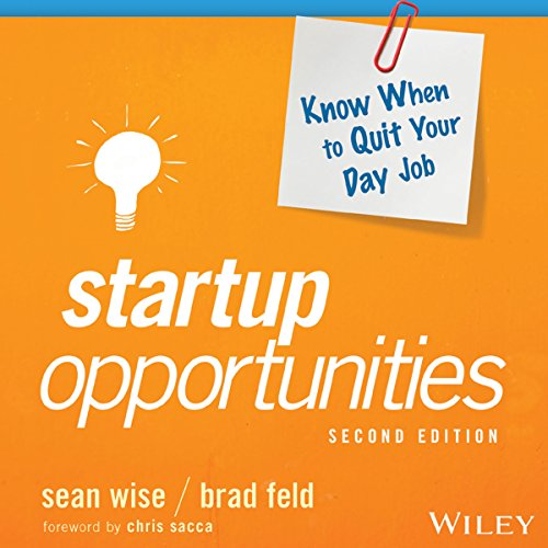 Startup Opportunities audiobook cover art