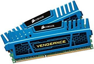 Corsair CMZ16GX3M2A1600C10B Vengeance Blue 16 GB (2x8 GB) DDR3 1600MHz (PC3 12800) Desktop Memory 1.5V