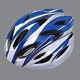 nohbi Scooter Cascos de Moto Integrales,Casco Integrado de Bicicleta de montaña, Casco de Seguridad cálido y Transpirable - Azul,Casco Deportivo Unisex