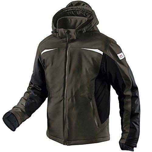 KÜBLER Workwear KÜBLER Weather Softshelljacke bunt, Größe M, Unisex-Arbeitsjacke aus Mischgewebe, Wind- und Wasserabweisende Softshelljacke