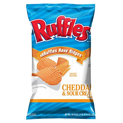 Ruffles Cheddar and Sour Cream (24.3 oz.) (pack of 2)