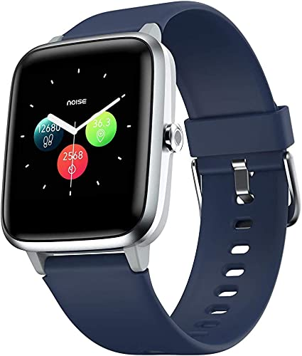 Renewed Noise Colorfit Pro 2 Full Touch Control Smart Watch With Cloudbased Watch Faces Royal Blue