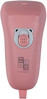 MyLO Electric Nail Clipper Safe for Infant Baby Kids, Pastel Pink