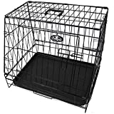 """Easipet Sloping Travel Crate Cage Small 24"""" Folding Car Dog Puppy Pet Hatchback 571"""