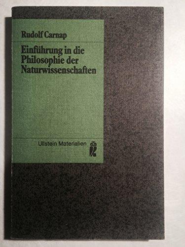 Einführung in die Philosophie der Naturwissenschaften. ( Materialien).