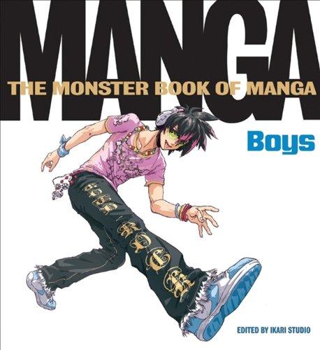 Monster Book of Manga: Boys (English Edition)
