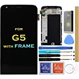 Screen Replacement LCD Display Touch Digitizer Assembly for LG G5 H840 H850 H820 H831 VS987 LS992 5.3' (with Frame)