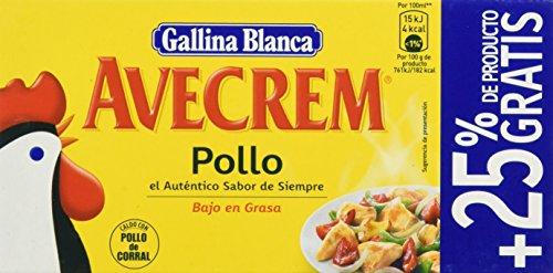 Gallina Blanca - Avecrem Caldo De Pollo 8 Pastillas - [Pack de...