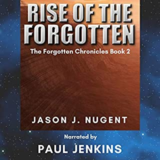 Rise of the Forgotten audiobook cover art