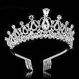 Immagine 1 frcolor bridal crystal fascia crown