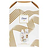 Dove, The Perfect Pampering Christmas Gifts Set, Clean And Fresh Fragrance And Present For Mum, Women, Teenagers And Girls, Skin Care Variety Pack With Bath And Dove Body Wash And Scented Candles