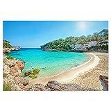 artboxONE Poster 30x20 cm Reise/Strand und Meer Mallorca