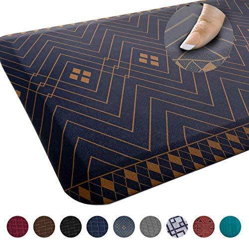 Sky Mats Anti-Müdigkeits-Bodenmatte – kommerzielle Qualität, perfekt für Stehtische, Küchen und Garagen – lindert Fuß-, Knie- und Rückenschmerzen 20x32x3/4-Inch Indigoblau