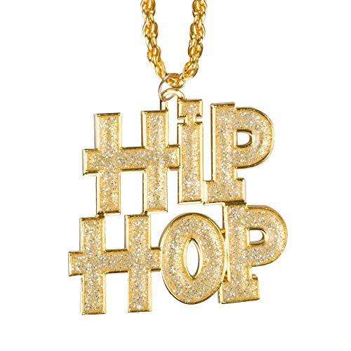 Boland 64409Collana Hip Hop, Costume, One Size