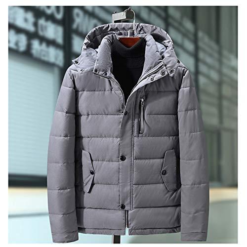 LMSDALAO Chaquetas de Invierno Winter Men's Coat Waterproof Thicken Warm Stand Collar Jacket Large Size 5XL 7XL 9XL