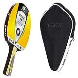 Sunflex Strike C35 - Juego de raquetas de ping pong y funda para raqueta de ping pong