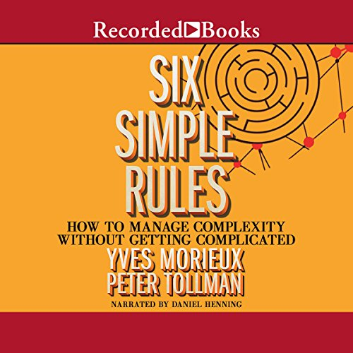 Six Simple Rules audiobook cover art