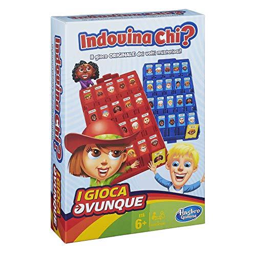 Hasbro Gaming - Indovina Chi? Travel (Gioco in Scatola), B1204103 [Versione Italiana]
