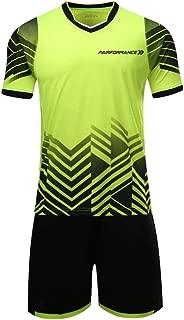 PAIRFORMANCE Boys' Soccer Jerseys Sports Team Training Uniform  Age 4-12  Boys-Girls-Youth Sport Shirts and Shorts Set
