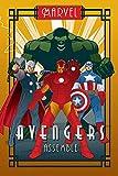 Marvel - Deco - Avengers Assemble - Comic Poster - Größe