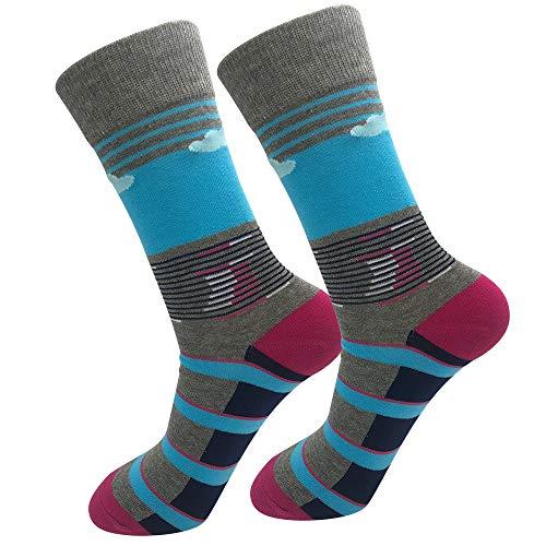 Byairls Lustige Meme Socken Crazy Socks Casual Baumwolle Socken Neuheit Kleid Socken (J1)